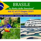 Viaggio di gruppo esclusivo BRASILE 2019