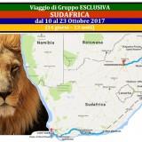 VIaggio di gruppo esclusivo SUD AFRICA 2017