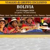 Viaggio di Gruppo esclusivo BOLIVIA 2020