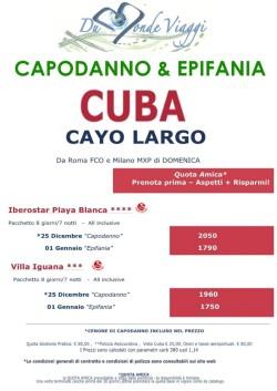 Capodanno a Cuba a CAYO LARGO