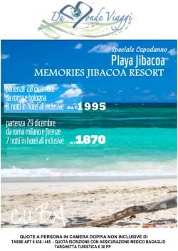 Capodanno a Cuba a Playa Jibacoa - partenza da Roma, Bologna, Milano e Firenze