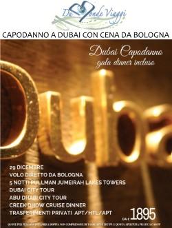 Capodanno a Dubai con Gala Dinner da Bologna - 29 dicembre - 5 notti