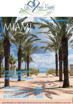 Capodanno a Miami con volo diretto da Milano