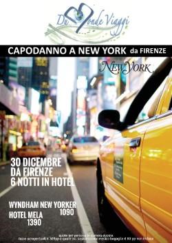 Capodanno a New York - 6 notti - volo da Firenze