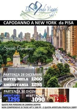 Capodanno a New York - 6 notti - volo da Pisa