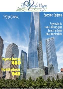 Epifania a New York da Pisa, Roma e Milano - 4 notti