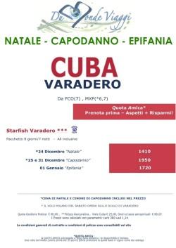 Natale Capodanno Epidania a Cuba (VARADERO)